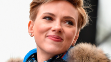 Protest: Scarlett Johansson at the Women's March on Washington yesterday Photo: Theo Wargo/Getty Images