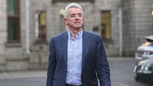 Gearing up: Michael O'Leary says Ryanair will be travelling to Europe again from July. Photo: REUTERS/Lorraine O'Sullivan
