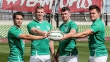 Vodafone Ireland, main sponsor of the Ireland Rugby team, has presented Peter O'Mahony, Chris Farrell, Joey Carbery and Jacob Stockdale with Ireland's Ball ahead of the team's departure to Japan. To celebrate this, Vodafone created a unique rugby ball with a bespoke grip containing the fingerprints of 32 different people from every county in Ireland. Ireland's Ball will travel to Japan with the team as a symbol of the Team Of Us support for Irish Rugby from fans in Ireland and around the world.