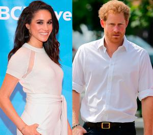 Meghan Markle, left, and Prince Harry, right