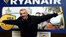 BERGAMO, ITALY: Michael O' Leary, CEO of Ryanair poses for a photograph at the end of a press conference in Bergamo this January. Photo: Pier Marco Tacca/Getty Images