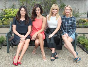 Xpose Presenters Lisa Cannon , Glenda Gilson,Karen Koster and Aisling O Loughlin  at TV3s Autumn Schedule 2014 launch at The Mansion House Dublin. Pictures:Brian McEvoy No Repro fee for one use