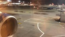 Aircraft sit on the tarmac at Heathrow. Photo: REUTERS