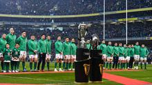 The Six Nations will resume in October