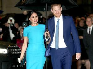 Prince Harry, Duke of Sussex and Meghan, Duchess of Sussex attend The Endeavour Fund Awards at Mansion House on March 05, 2020 in London, England. (Photo by Chris Jackson/Getty Images)