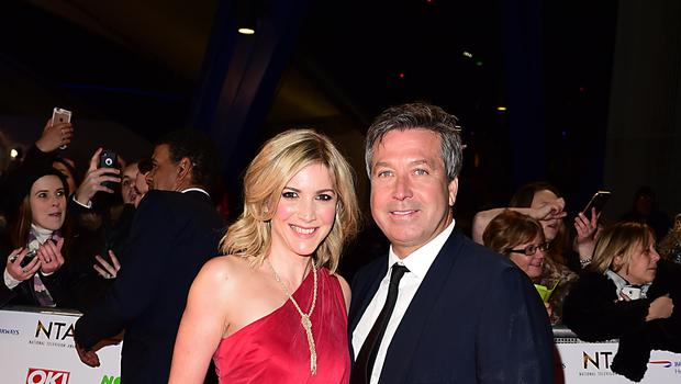 Lisa Faulkner has announced her engagement to John Torode (Ian West/PA)