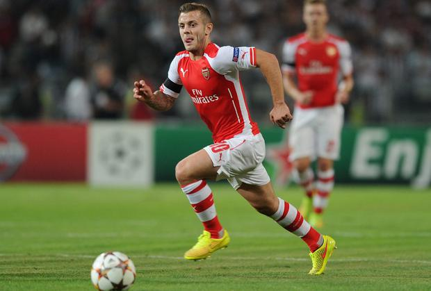 Jack Wilshere was heralded as one of England's brightest talents when he became Arsenal's youngest league debutant at the age of 16. Photo credit: Stuart MacFarlane/Arsenal FC via Getty Images