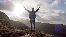 'I will return' says a traveller in this poetic Tourism Ireland video