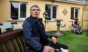Bramleigh Lodge Nursing Home resident Joseph Darcy in Cahir, Co Tipperary.  Picture; Gerry Mooney