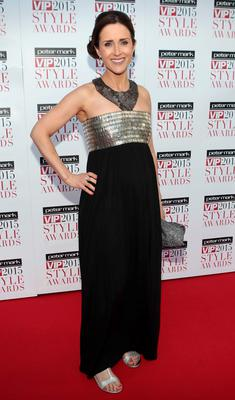 Maia Dunphy on the Red Carpet at The Peter Mark VIP Style Awards 2015 at The Marker Hotel,Dublin. Pictures Brian McEvoy
