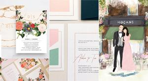 Top wedding stationery and invitation designers Ireland   THEVOW.ie