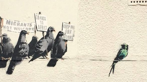 The mural appeared this week in Clacton-on-Sea but the council, which said it did not know it was a Banksy piece, removed it following a complaint.
