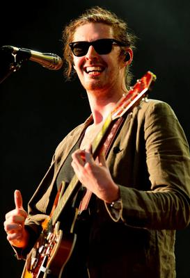 Andrew Hozier-Byrne, known as Hozier, on the Virgin Media Stage, during day one of the V Festival, at Hylands Park in Chelmsford, Essex. PRESS ASSOCIATION Photo. Picture date: Saturday August 22, 2015. Photo credit should read: Yui Mok/PA Wire