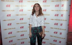 Angela Scallon at the opening night of H&M's flagship store in College Green,Dublin. Photo:  Gareth Chaney Collins