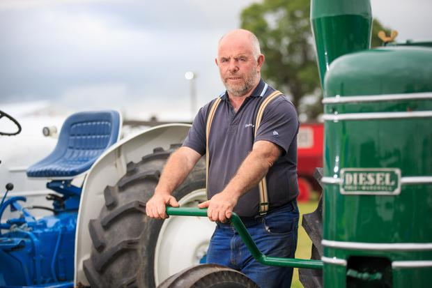 Sean Murphy at the 2019 Ploughing Championships in Co Carlow. Picture: Mark Condren