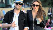 Kian Egan with Jodi Albert