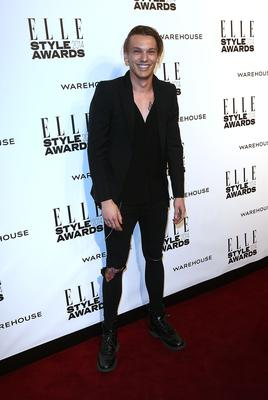 Jamie Campbell Bower attends the Elle Style Awards 2014