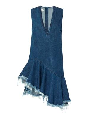 Asymmetrical frayed hem dress, €470 by Marques Almeida from Brown Thomas