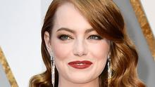 Actor Emma Stone, winner of the award for Actress in a Leading Role for 'La La Land'