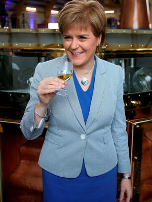 Nicola Sturgeon, Scottish First Minister and leader of the Scottish Nationalist Party was in town for the recent British Irish Council summit (Andrew Milligan/PA Wire)