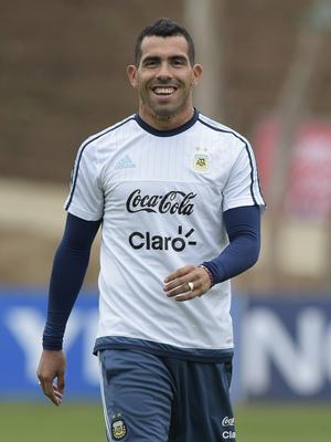 Argentina's forward Carlos Tevez is returning home to join Boca Juniors