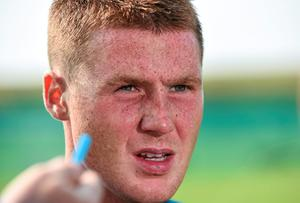 For all the suspicions that a meek temperament may be inhibiting him, James McCarthy's importance in the Irish midfield remains paramount. Pat Murphy / SPORTSFILE