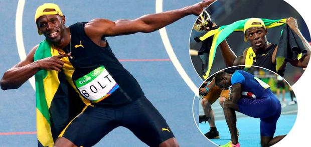 Usain Bolt was too strong for Gatlin once again