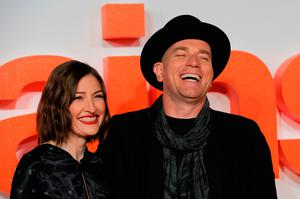 Stars of the film Kelly Macdonald and Ewan McGregor arrive for the show. Photo: Getty Images