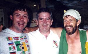 O'Connor with Joe Curran and Charlie McCreevy