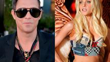 Jamie Hince (left) and Jessica Stam (right)