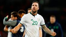 Republic of Ireland's Shane Duffy. Photo: REUTERS