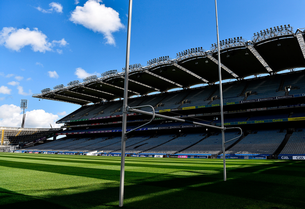 A general view of the GAA's headquarters at Croke Park, Dublin