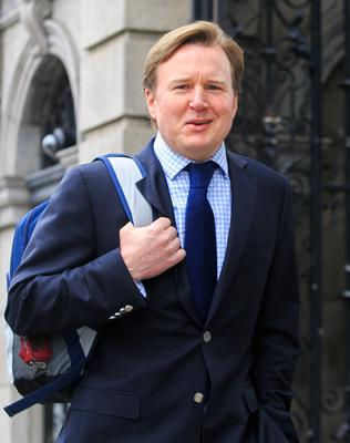 Dr Cillian de Gascun attended the Dáil Covid-19 committee. Picture: Collins