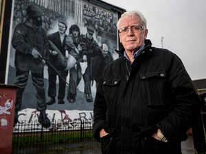 John Kelly, whose 17-year-old brother Michael was killed by British soldiers in the city on Bloody Sunday
