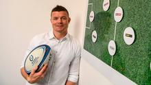Brian O'Driscoll launching Sports Extra on Sky. Photo: David Fitzgerald/Sportsfile