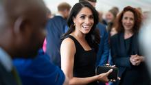 Meghan, Duchess of Sussex attends a reception at Glencairn, the residence of Robin Barnett, the British Ambassador to Ireland during day one of their visit to Ireland on July 10, 2018 in Dublin, Ireland. (Photo by Geoff Pugh - WPA Pool/Getty Images)