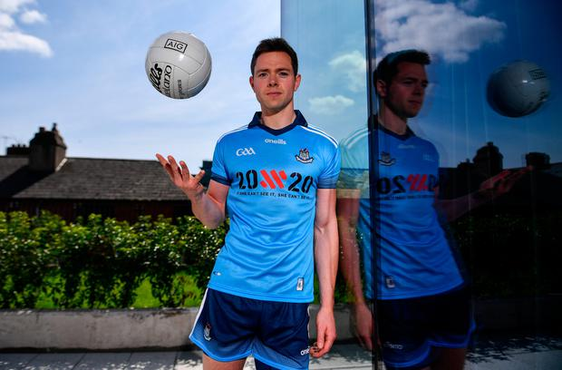 Dublin's Dean Rock says his team is relentless in the pursuit of their own excellence. Photo: Sportsfile