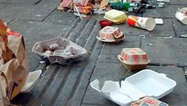 Litter is no longer a problem on certain city streets