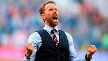 """Southgate: """"From an English perspective, we're very fortunate that our young players are playing for Conte, Klopp, Mourinho, Guardiola, Arsene, top foreign coaches."""" Photo credit: Owen Humphreys/PA Wire."""