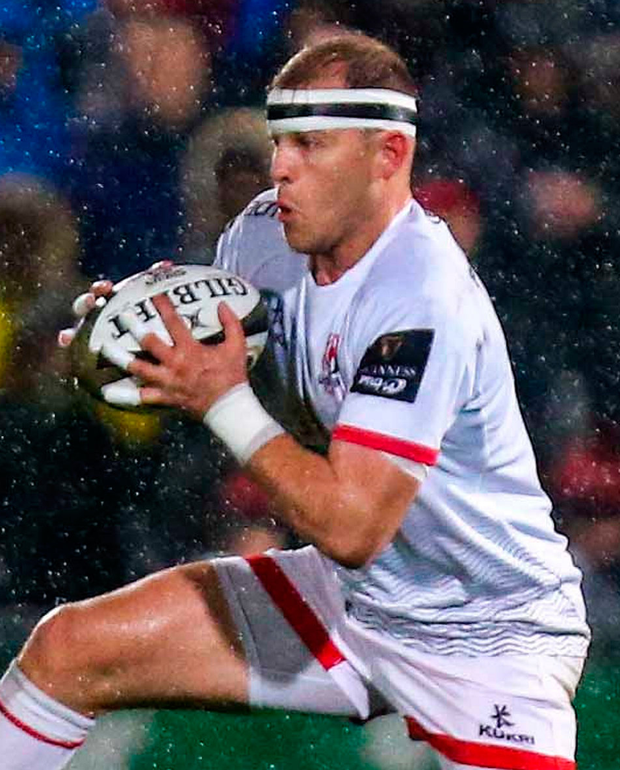 Suspended: Ulster's Will Addison. Photo: John Dickson/Sportsfile