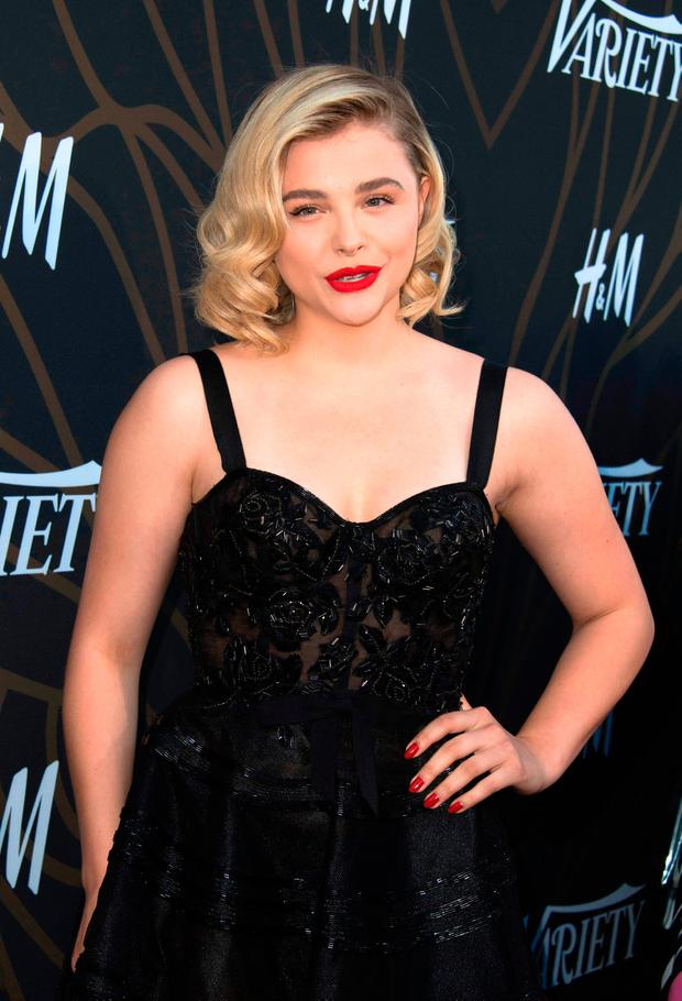 Actress Chloe Grace Moretz attends Variety's Power of Young Hollywood Event on August 8, 2017, in Hollywood, California. / AFP PHOTO / VALERIE MACONVALERIE MACON/AFP/Getty Images