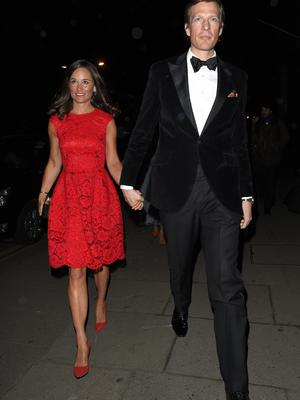 Pippa Middleton and Nico Jackson arrive at The British Heart Foundation Ball
