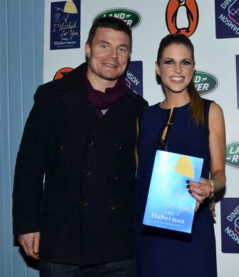 Author & actress Amy Huberman launches her 'I Wished For You' book with husband Brian O'Driscoll