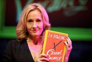 Author JK Rowling received countless rejections from publishers before finally finding global success with her Harry Potter novels and subsequent books including The Casual Vacancy. Photo: Ben Pruchnie/Getty Images