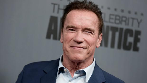 "Arnold Schwarzenegger attends ""The New Celebrity Apprentice"" Q & A and Red Carpet Event At Universal Studio, Universal City, California, on December 9, 2016. / AFP / RICHARD SHOTWELL        (Photo credit should read RICHARD SHOTWELL/AFP/Getty Images)"