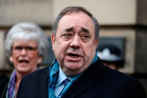 VICTORY AT A COST: Alex Salmond's acquittal may end up changing the post-Brexit playing field. Picture: PA