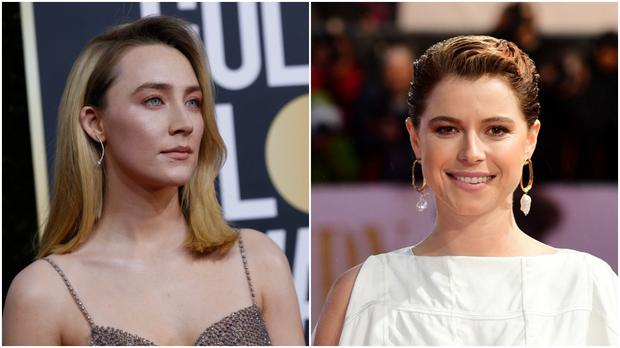 Both Ronan and Buckley been nominated in Leading Actress category. Photos: Reuters/PA