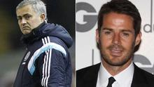 Jose Mourinho and Jamie Redknapp