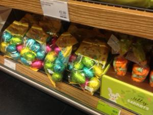 Easter Eggs in Marks and Spencer