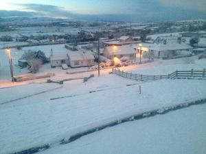 Snow in Donegal Credit: Aoife Flanagan